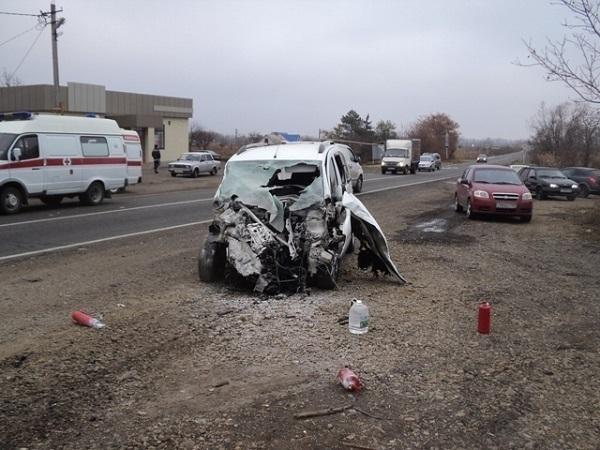 Семь человек получили травмы в результате аварии на Кубани