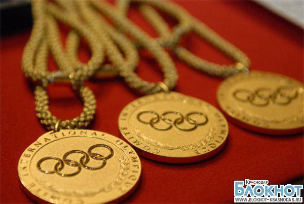 Два миллиона рублей получат  олимпийцы Краснодарского края
