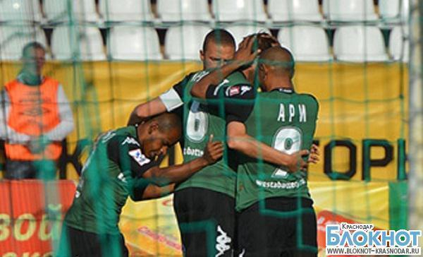 ФК «Краснодар» проиграл  «Уфе» со счетом  2:0