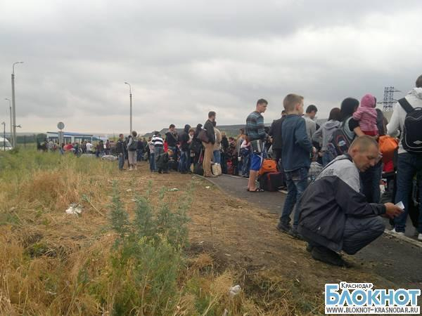 В Краснодарский край приехало более шести тысяч украинцев