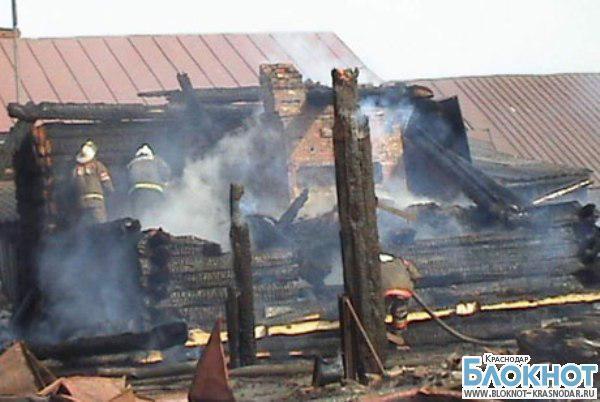 В Выселковском районе в пожаре погиб трехлетний ребенок