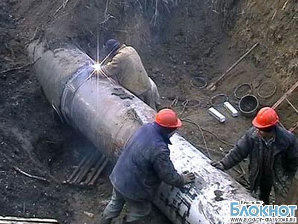 В Темрюкском районе произошла авария на водопроводе