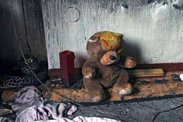От ужасных ожогов скончался 1,5-годовалый мальчик после пожара в Тбилисской