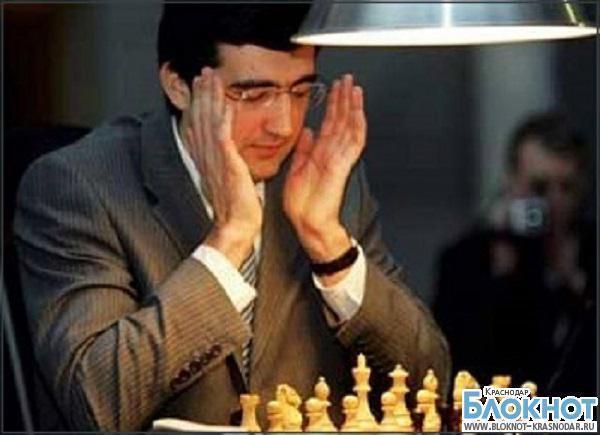 В Краснодарском крае подписано соглашение о создании «Центра спортивной подготовки по шахматам имени Владимира Крамника»