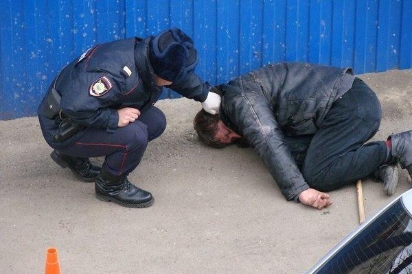 Бездомный скончался в краснодарском отделе полиции