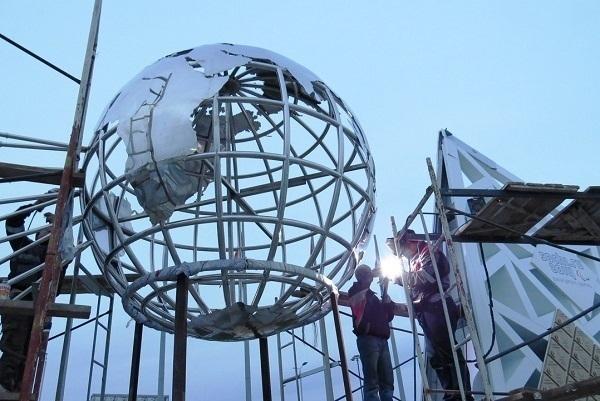 В Олимпийском парке Сочи достраивается «Стена чемпионов»