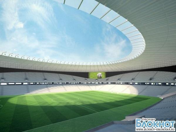На новом стадионе ФК «Краснодар» установят гигантский видеоэкран