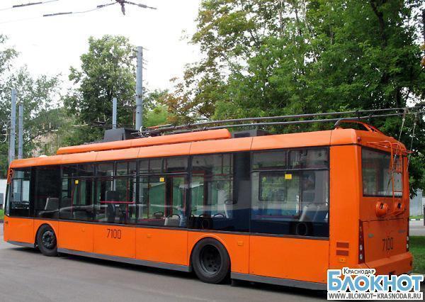 В Краснодаре появился  троллейбус с запасом автономного хода