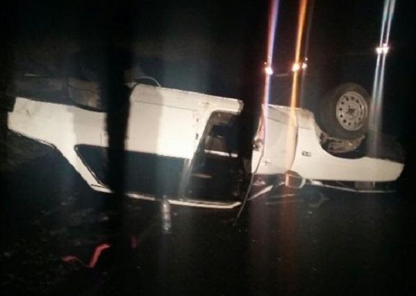 НаКубани умер шофёр перевернувшегося ВАЗ