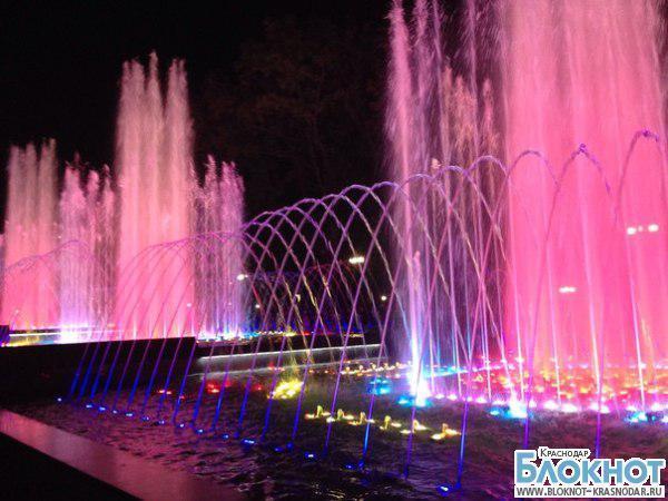 Жители Краснодара оценили танцевальные способности нового фонтана