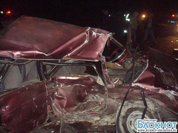 В ДТП в Абинском районе погиб парень