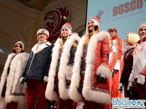 Сочинский огонь по Краснодару пронесут 11 олимпийских чемпионов