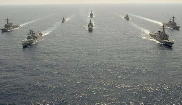 В Черном море проходят масштабные военные учения