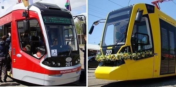 В Краснодаре объявили голосование за самый комфортный трамвай