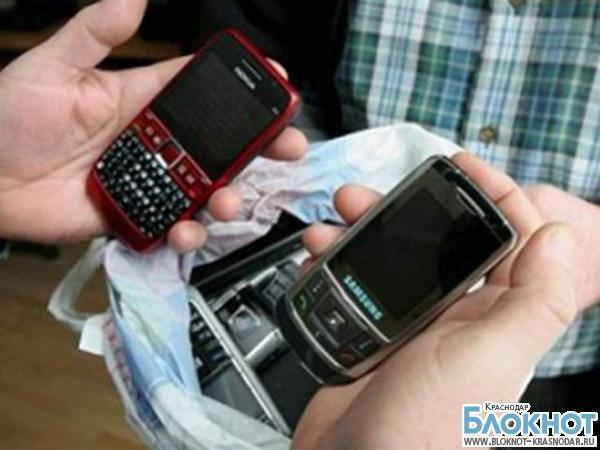 В Краснодаре воры-дилетанты украли только недорогие телефоны