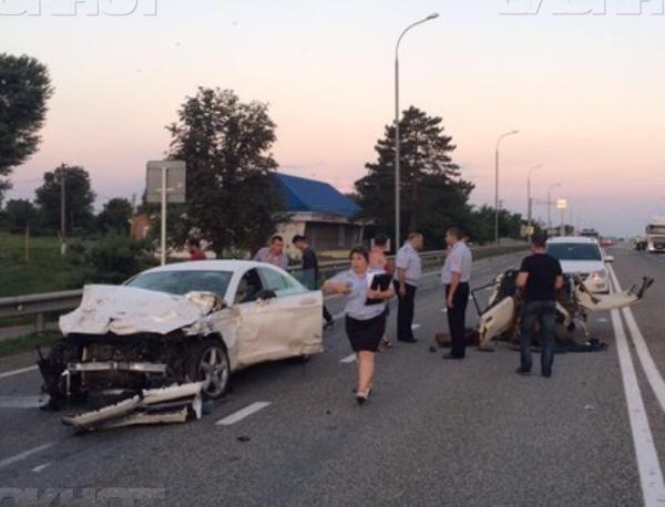 По факту ДТП с пятью погибшими на Кубани возбудили уголовное дело