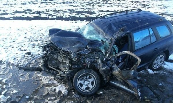В Динском районе столкнулись три машины