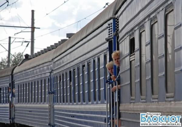 Из-за сильной жары под  Сочи встали поезда