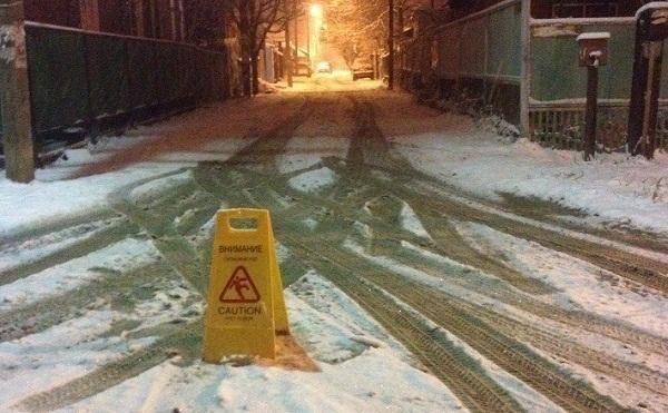 В Краснодарском крае синоптики прогнозируют снегопад