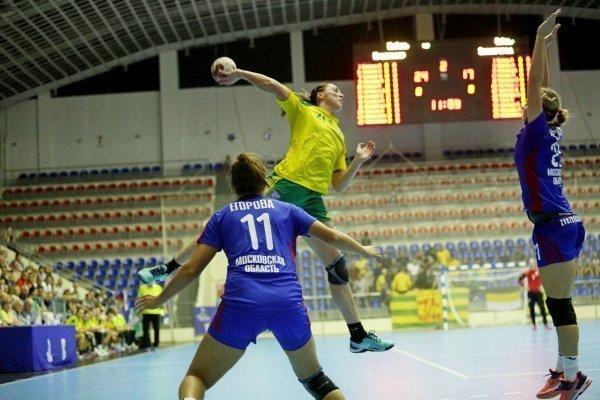 Гандболистки «Кубани» забили «Звезде» на 10 мячей больше