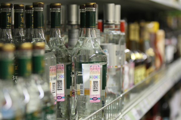 25-летний краснодарец замерз и украл в магазине бутылку водки