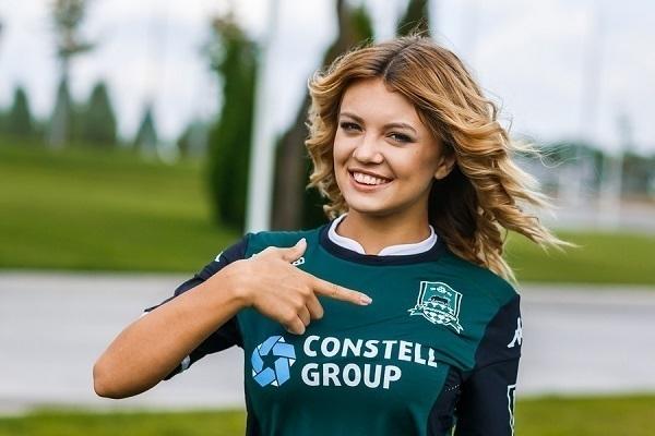 Виктория Селезнева представит ФК «Краснодар» в конкурсе «Мисс Премьер-Лига 2015»