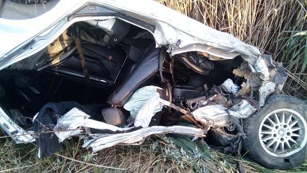 В рейсовый автобус «Анапа-Судак» на Керченском шоссе врезалась иномарка: есть погибшие