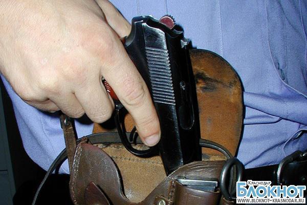 Участковый из Горячего ключа выстрелил в  инспектора полиции