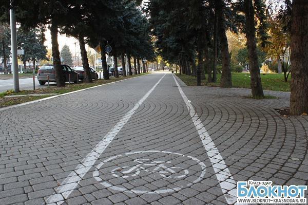 Жителей Краснодара ожидают штрафы за прогулки по велодорожкам