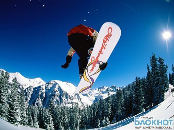 Сноубордист из Сочи завоевал Кубок России в «Слоуп-стайле»