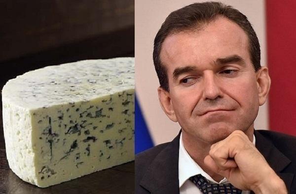 Кондратьев оценил кубанский сыр с голубой плесенью