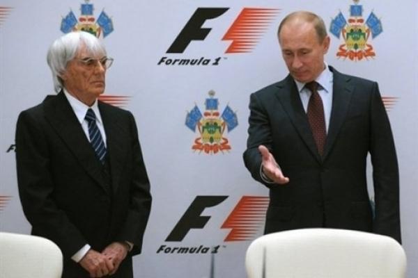Путин договорился с Экклстоуном о ночном Гран-при Сочи
