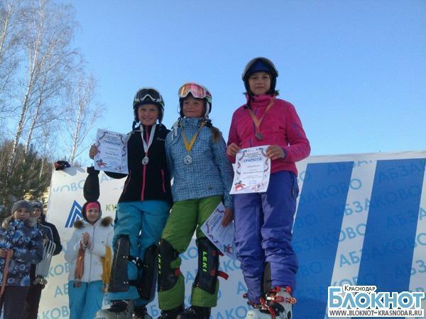 12-летняя сноубордистка из Сочи откроет трассу на Олимпиаде