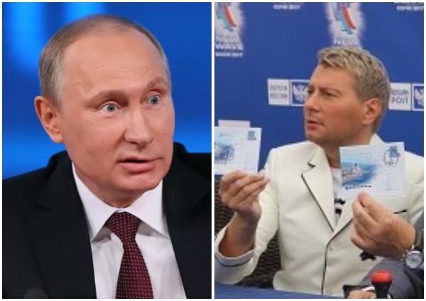 Басков заготовил ко дню рождения президента открытку из Сочи