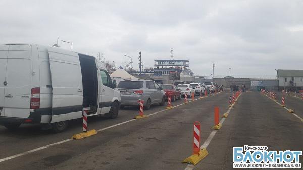 В порту «Кавказ» нет очереди