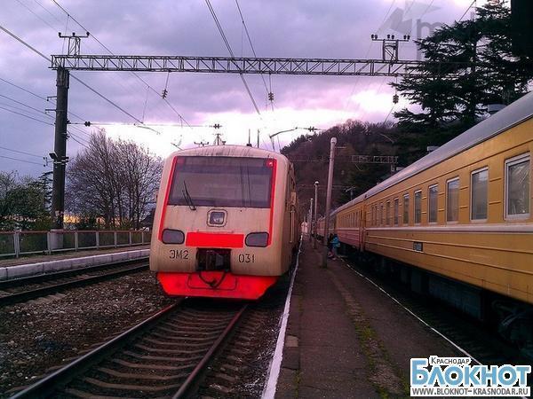 В Сочи появились «олимпийские» железнодорожные станции