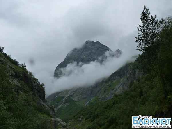 В горных районах Краснодарского края ожидаются дожди