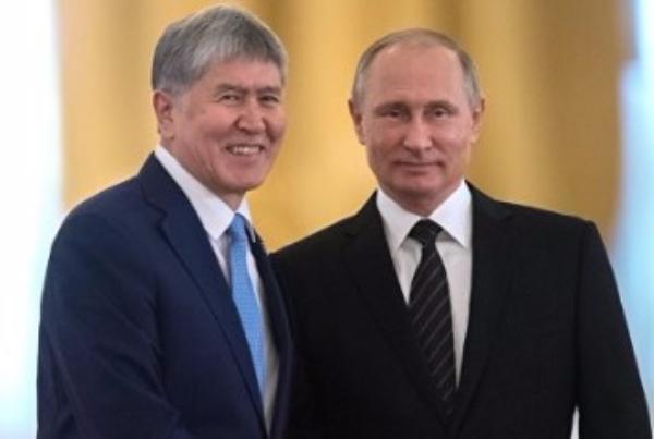 СМИ говорили о встрече В.Путина иАтамбаева 14сентября