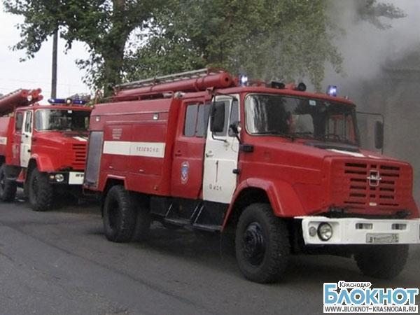 В Староминской при пожаре погиб пенсионер