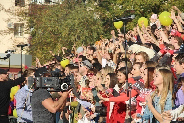 Краснодарцы приняли участие в съемках фильма «Самый лучший день»