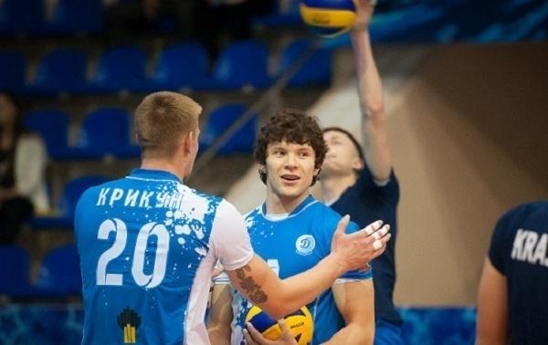 Краснодарские волейболисты выиграли у «Нефтяника»