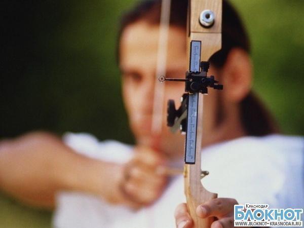 Лучница из Новороссийска взяла «золото» на чемпионате России