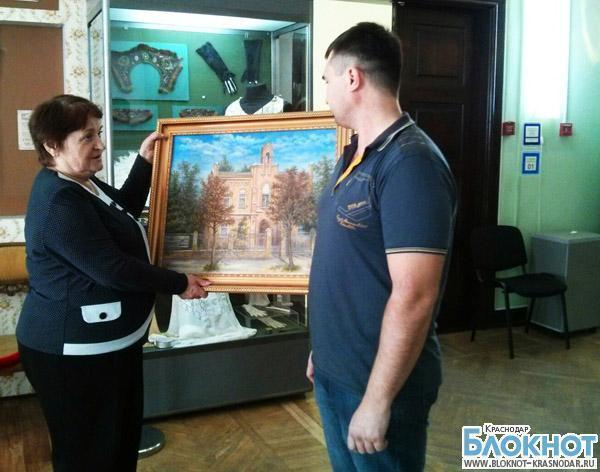 Музею-заповеднику имени Фелицына подарили эксклюзивную картину