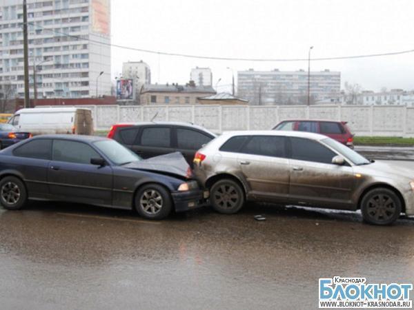 ДТП в Белореченском районе: трое пострадавших