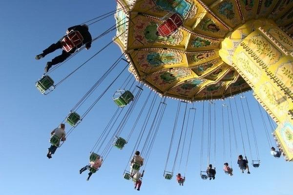В новогодние праздники на Театральной площади откроют парк аттракционов