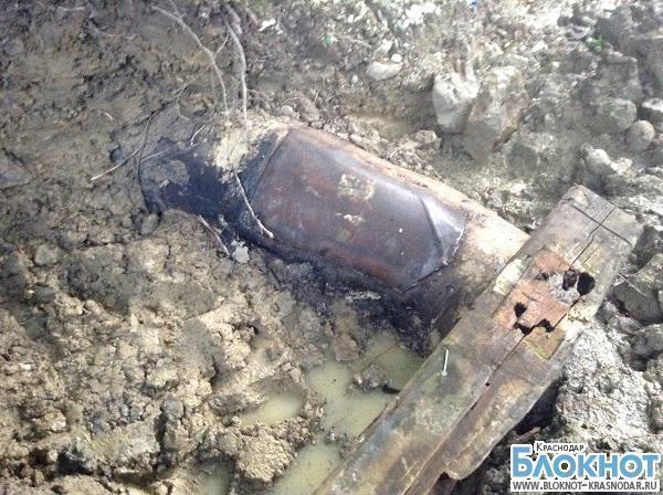 В Туапсинском районе был поврежден главный водовод