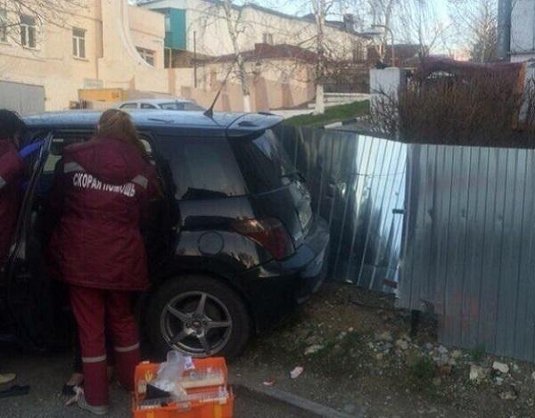 В Новороссийске пьяная женщина-водитель устроила ДТП