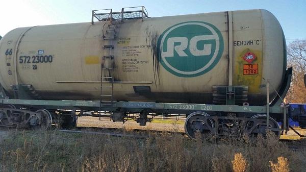 В Краснодарском крае ликвидируют последствия схода с рельсов цистерн с топливом