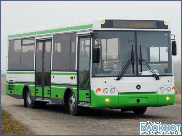 В новом году краснодарский автобус №7 изменит схему движения