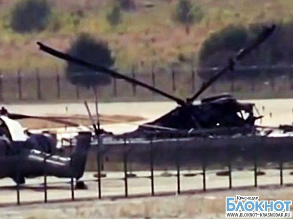 В Геленджике разбился вертолет Ми-8